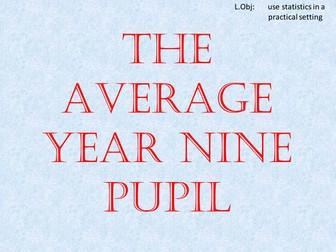 Functional Mathematics: Average Year 9 Student