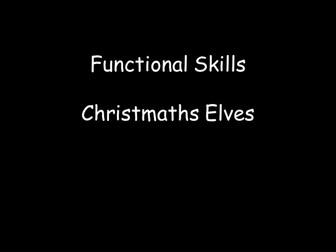 Functional Mathematics: Christmaths Elves