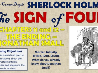 The Sign of Four - The Ending: The Testimony of Jonathan Small!