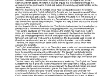 GCSE History Early Elizabethan England L11 Why did England defeat the Armada?