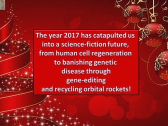 Christmas 2017 New Science Quiz