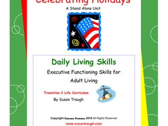 DLS Celebrating Holidays-Daily Living Skills