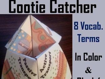 Passive and Active Cell Transport Cootie Catcher