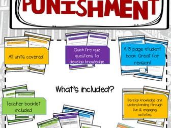 GCSE 9-1 History Crime & Punishment Revision and Quiz Book