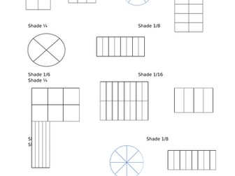 Finding Fractions of Shapes