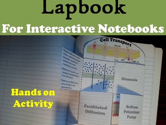 Passive and Active Cell Transport Lapbook