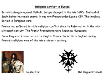 Why did the Huguenots flee France