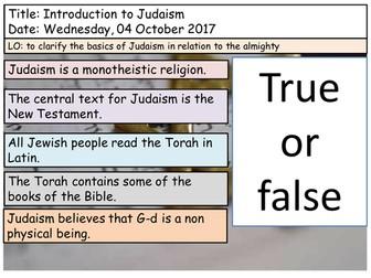 Judaism- GCSE- Edexcel 2016
