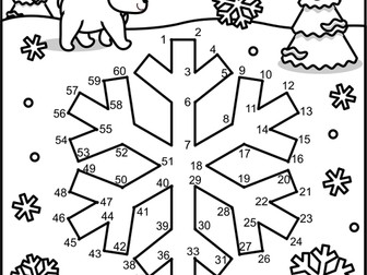 Dot To And Coloring Page