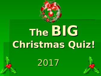 The Big Christmas Quiz 2017