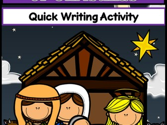 The Real Meaning of Christmas Writing Activity