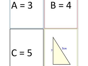 Pythagoras Activity