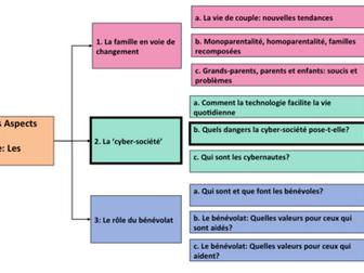 La cyber-société- Quels dangers pose-t-elle? A Level French- Year 1/ AS