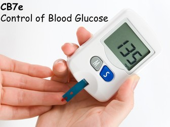 Edexcel CB7e Control of Blood Glucose