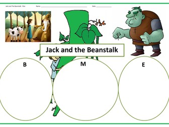 Jack and the Beanstalk - BIG WRITE!