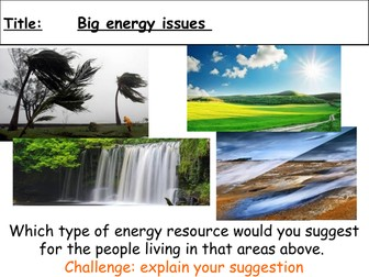 P3 Big energy issues