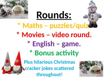 Christmas quiz and activity bundle of fun ! ABSOLUTE BARGAIN 4 for the price of 2 ! | Teaching ...