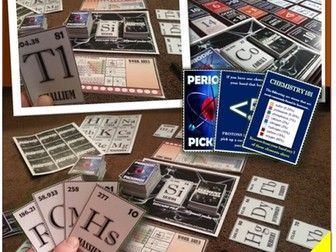 Periodic Table Interactive Card Game