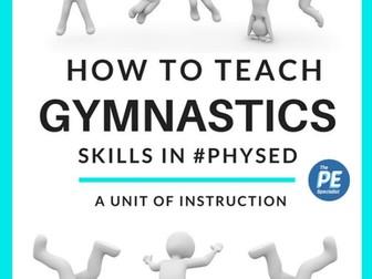 4 Week Gymnastics Unit Sample for PE Class |Teacher Resource Pack|