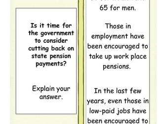 AQA Theme 3 Politics & Participation- Governmnet spending lesson