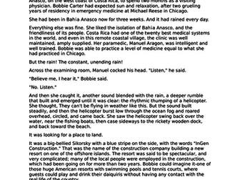 AQA English Language Paper 1 - Jurassic Park