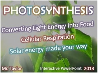 Photosynthesis 3D Animated PowerPoint Presentation