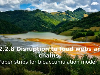Activate 2 B2.2.8 Disruption to food webs