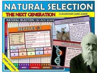 Natural Selection Classroom Board Game