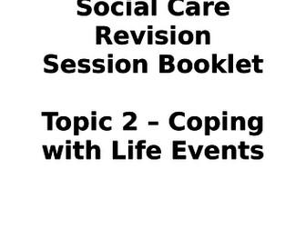 AQA GCSE Health & Social Revision Booklets Unit 1