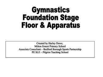 Gymnastics schemes of work