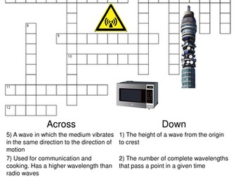 Physics: Mega Puzzle Bundle. 20 Crosswords and