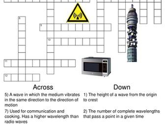 Physics: Mega Puzzle Bundle. 20 Crosswords and