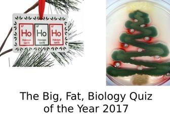 GCSE Biology quiz - Christmas
