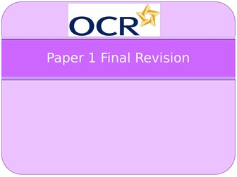 New OCR GCSE PE Revision PowerPoints for Paper 1 and 2