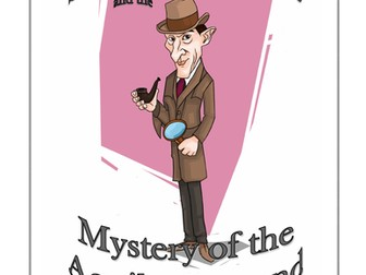 Sherlock Holmes and the mystery of the Aquilla Diamond - A Victorian detective parody