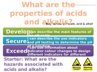 7Fc Acids and Alkalis (Exploring Science)