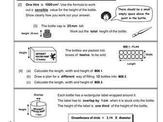 Functional Maths Level 2 Part 8