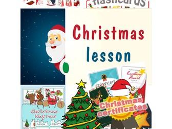 Christmas-lesson