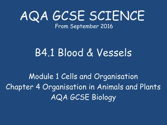 NEW GCSE Biology -  B4 Organisation in Animals and Plants