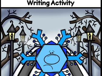 The Lost Little Snowflake ~ Creative Writing Activity