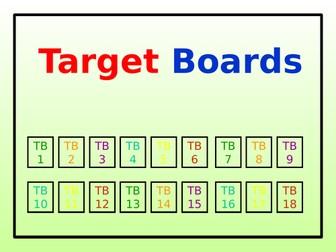 Target Boards (36 in Total)