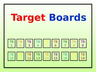 Target Boards (36 in Total)