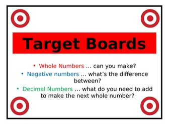 Target Boards (3)