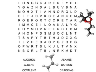 Chemistry Word Search Bundle. Includes 10 different word