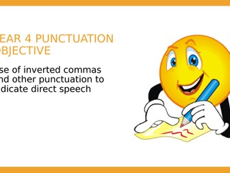 Year 4 SPAG: Inverted Commas