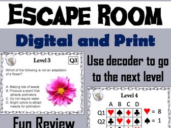 Plant Adaptations: Science Escape Room
