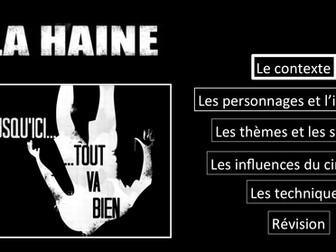 La Haine- Le contexte- Movie Study/ Etude du film- A Level French