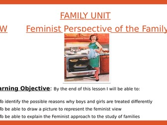 Sociology- Marxist and Feminist view of family