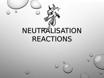 Neutralisation Reactions presentation