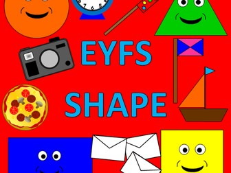EYFS Shape pack - displays, games, Powerpoints, IWB